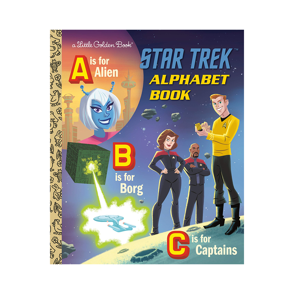 Little Golden Book The Star Trek Alphbet Book