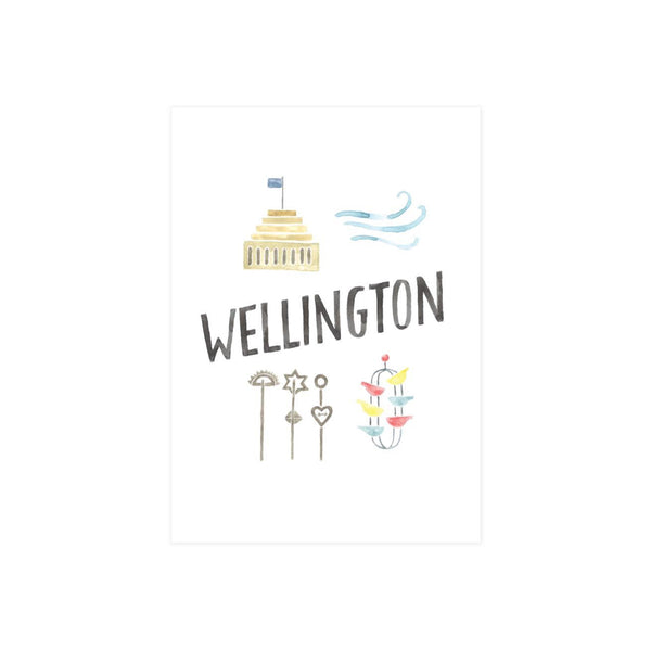 Steer Illustrations X Iko Iko Card Wellington