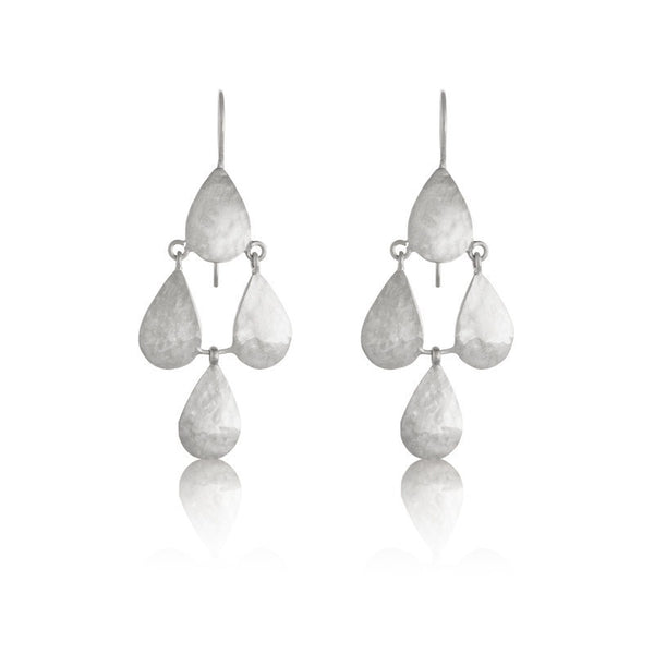 Kerry Rocks Earrings Petal Chandelier
