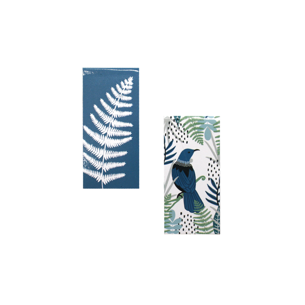 New Zealand Magnetic Bookmark Pack of 2 Tui and Fern