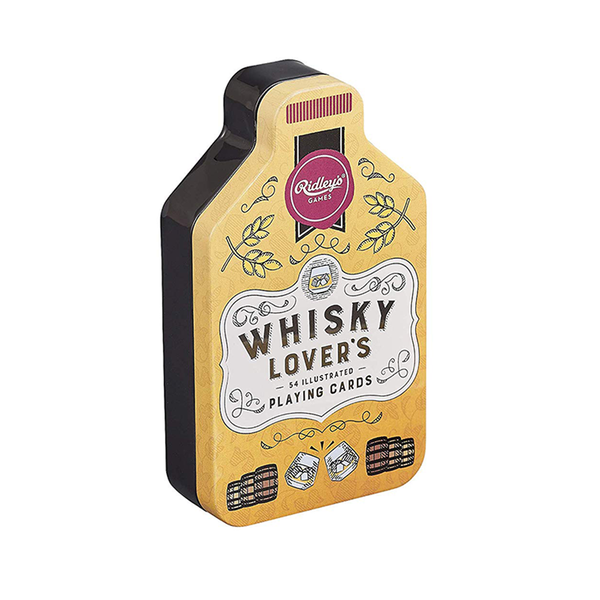 Ridleys Whisky Lovers Playing Cards