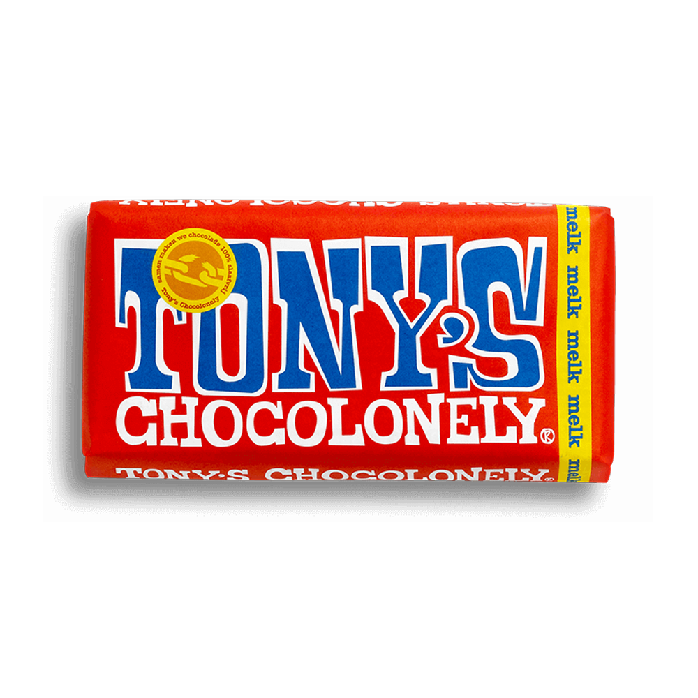 Tony's Chocolonely 180g Milk Chocolate