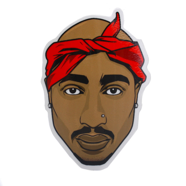 Pro and Hop Sticker Tupac Shakur