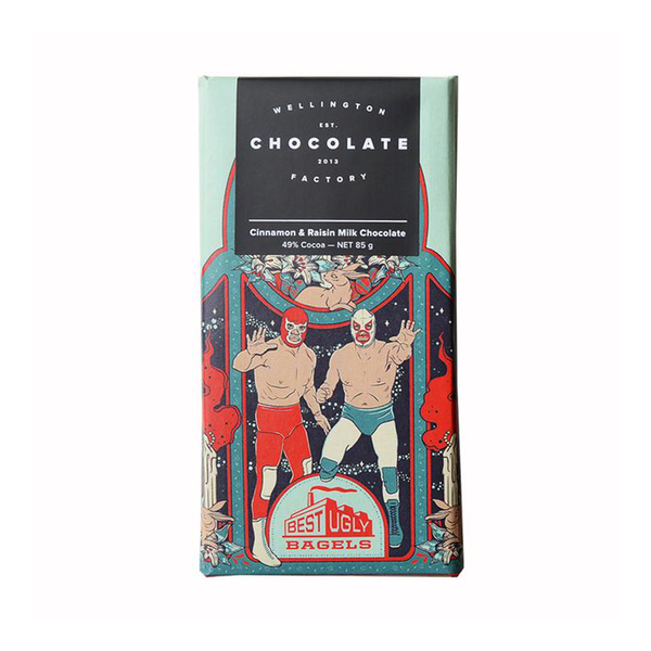 Wellington Chocolate Factory Best Ugly Easter Bar 75g