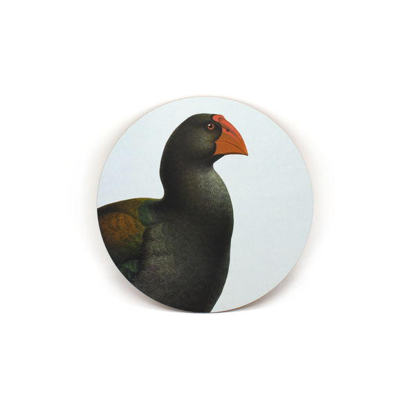 100% NZ Coaster Takahe