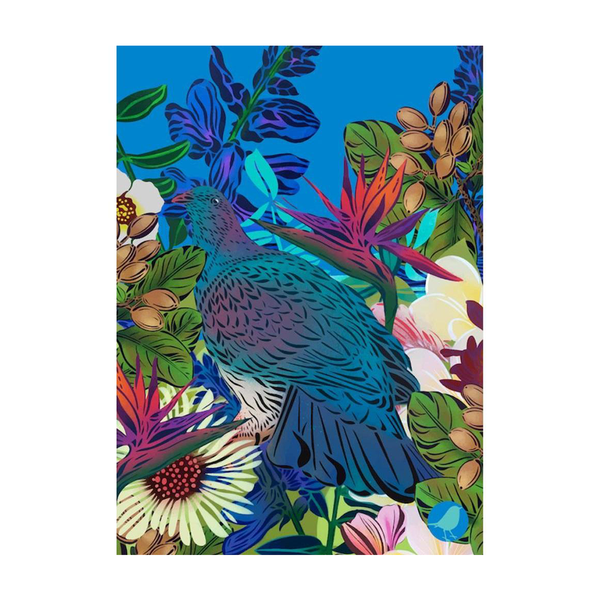 Flox Tea Towel Kereru