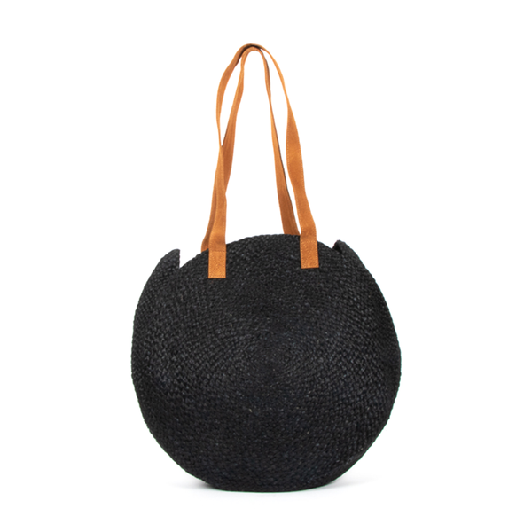 Circular Day Bag Black