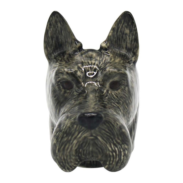 Quail Scottie Dog Face Egg Cup