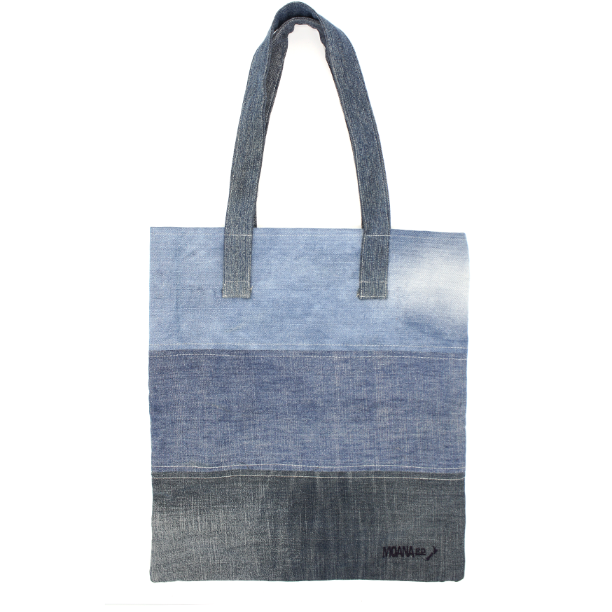 Moana Road Recycled Denim Tote
