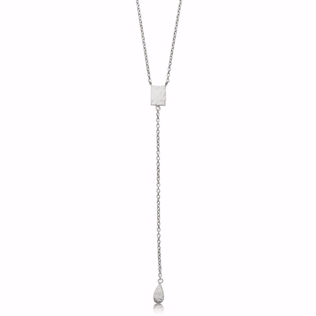 Kerry Rocks Platelet Lariat Necklace