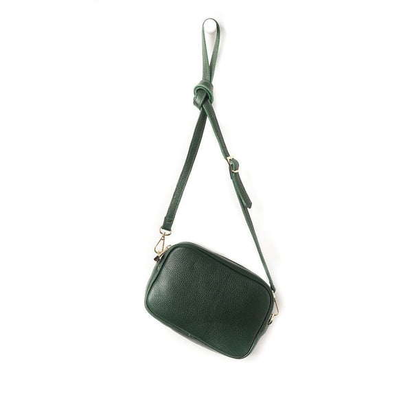 Citta Dixon Leather Handbag Jungle Green