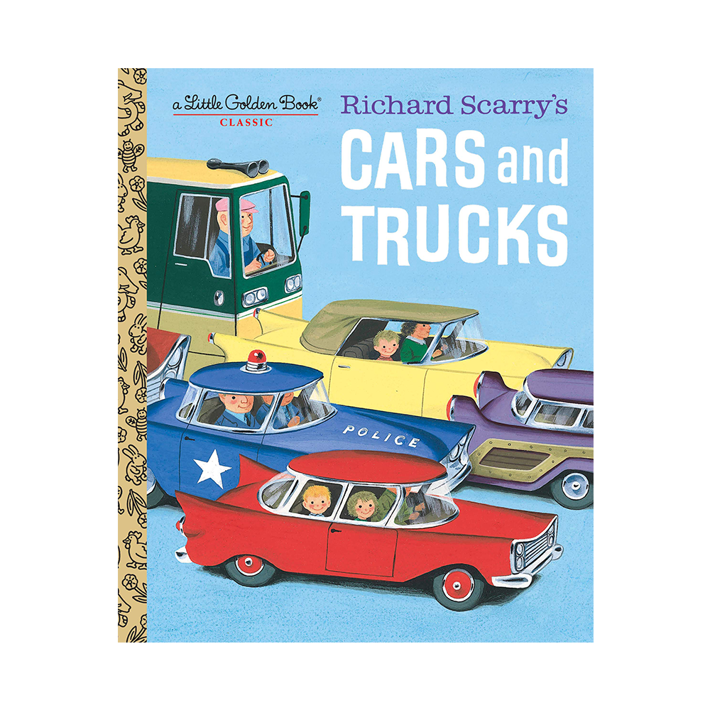 Little Golden Book Richard Scurrys Cars and Trucks