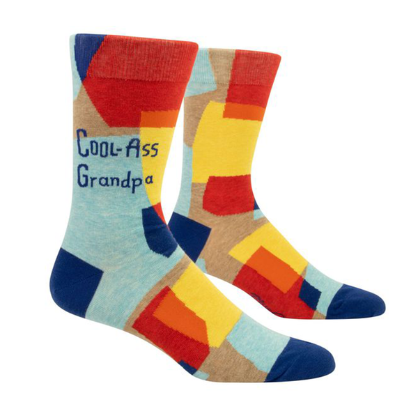 Blue Q Men's Socks Cool-Ass Grandpa