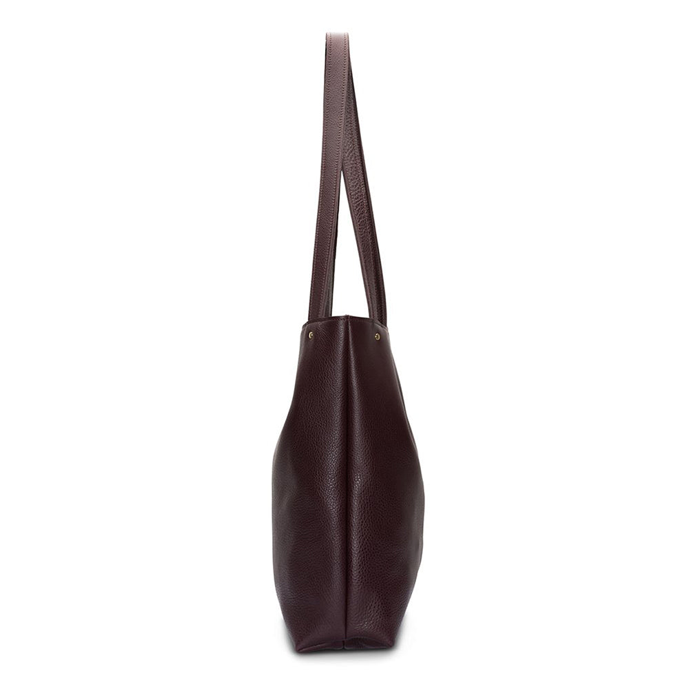 Go Ask Alice Ingrid Tote Bag Plum
