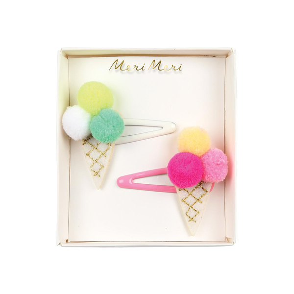 Meri Meri Hair Clips Ice Cream