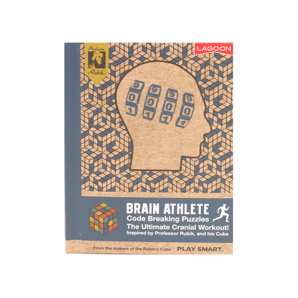 Brain Athlete Code Breaking Puzzle Book