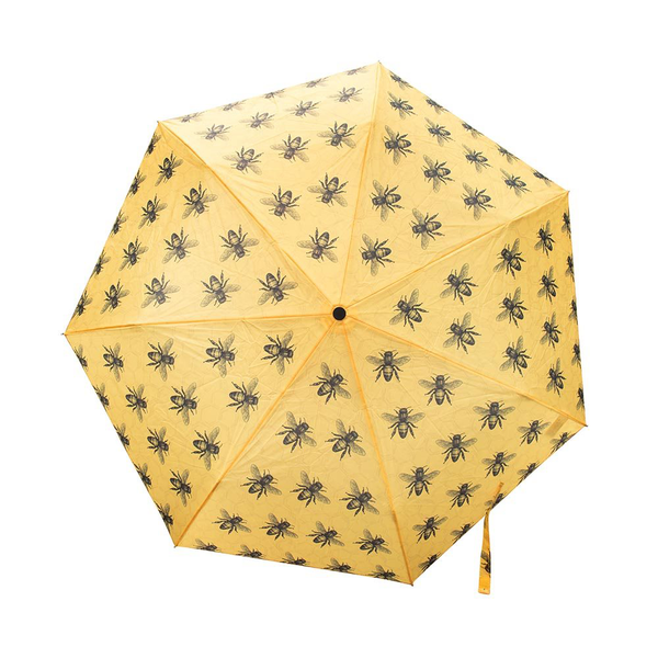 Foldable Umbrella Bees Yellow