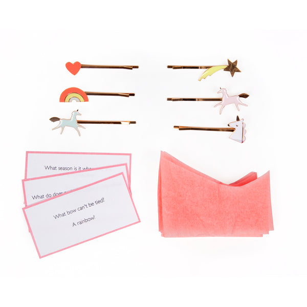 Meri Meri Christmas Cracker Single Unicorn