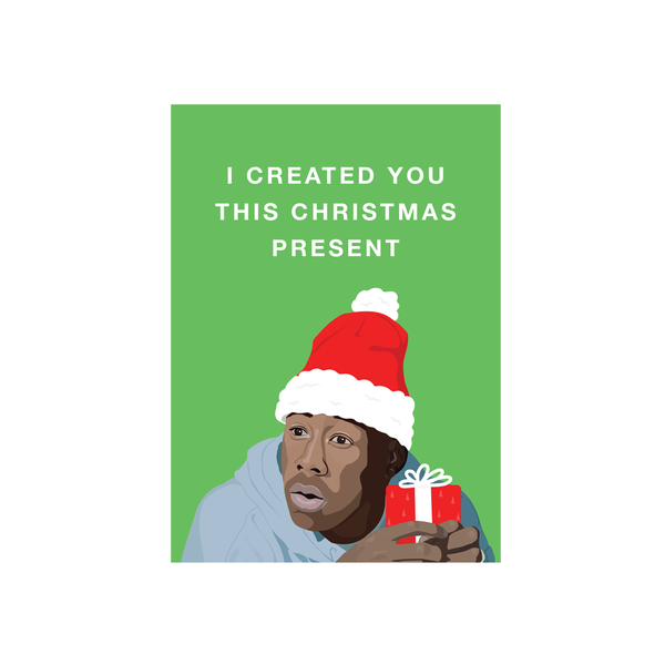 Iko Iko Christmas Card Pop Culture Create