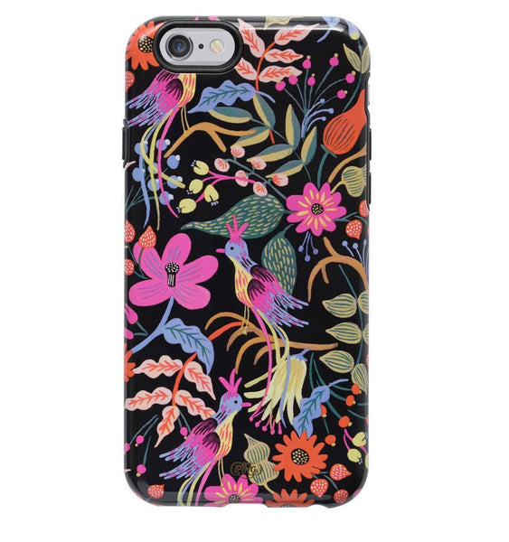 Rifle paper Co iPhone 6 Hard Case With Rubber Inlay Folk