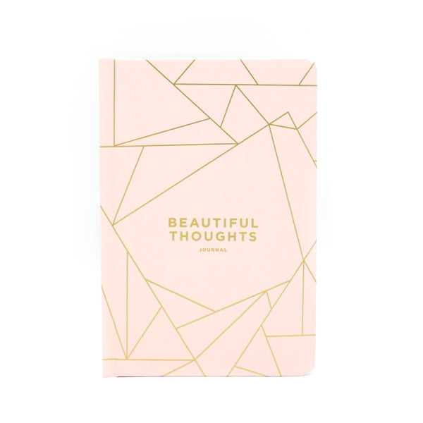 Frank A5 Hard Cover Planner Beautiful Thoughts Blush