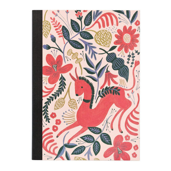 Rifle Paper Co Botanical Journal Ruby Folk