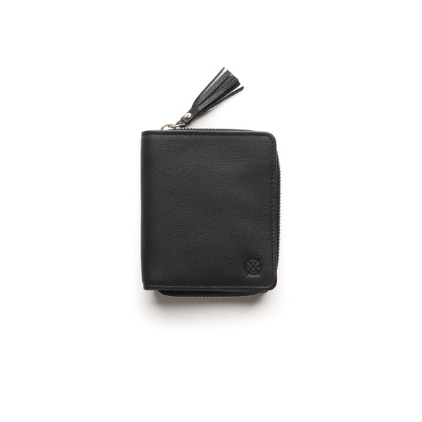 Stitch & Hide Leather Wallet Mia Black