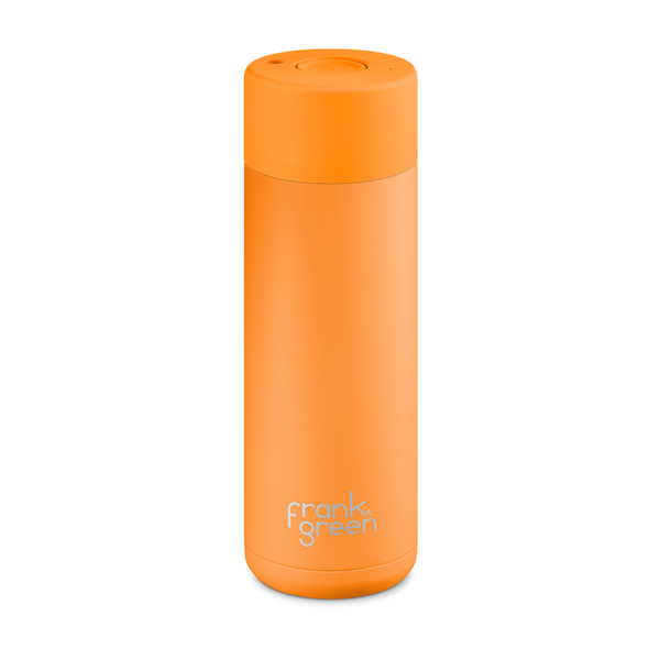 Frank Green Stainless Steel Smart Bottle 20oz Turmeric