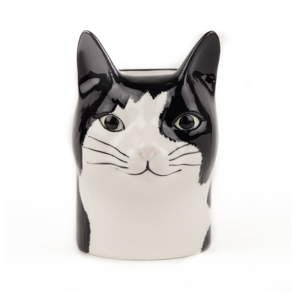 Quail Cat Barney Pot