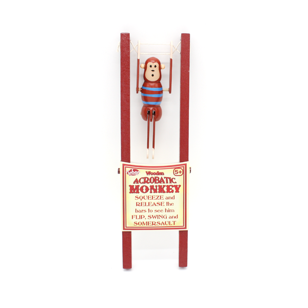 Tobar Wooden Acrobatic Monkey
