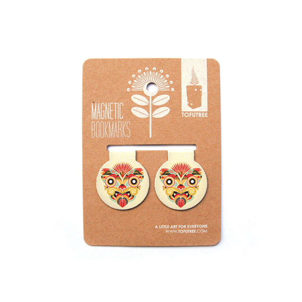 Tofutree Bookmark Set Tiki