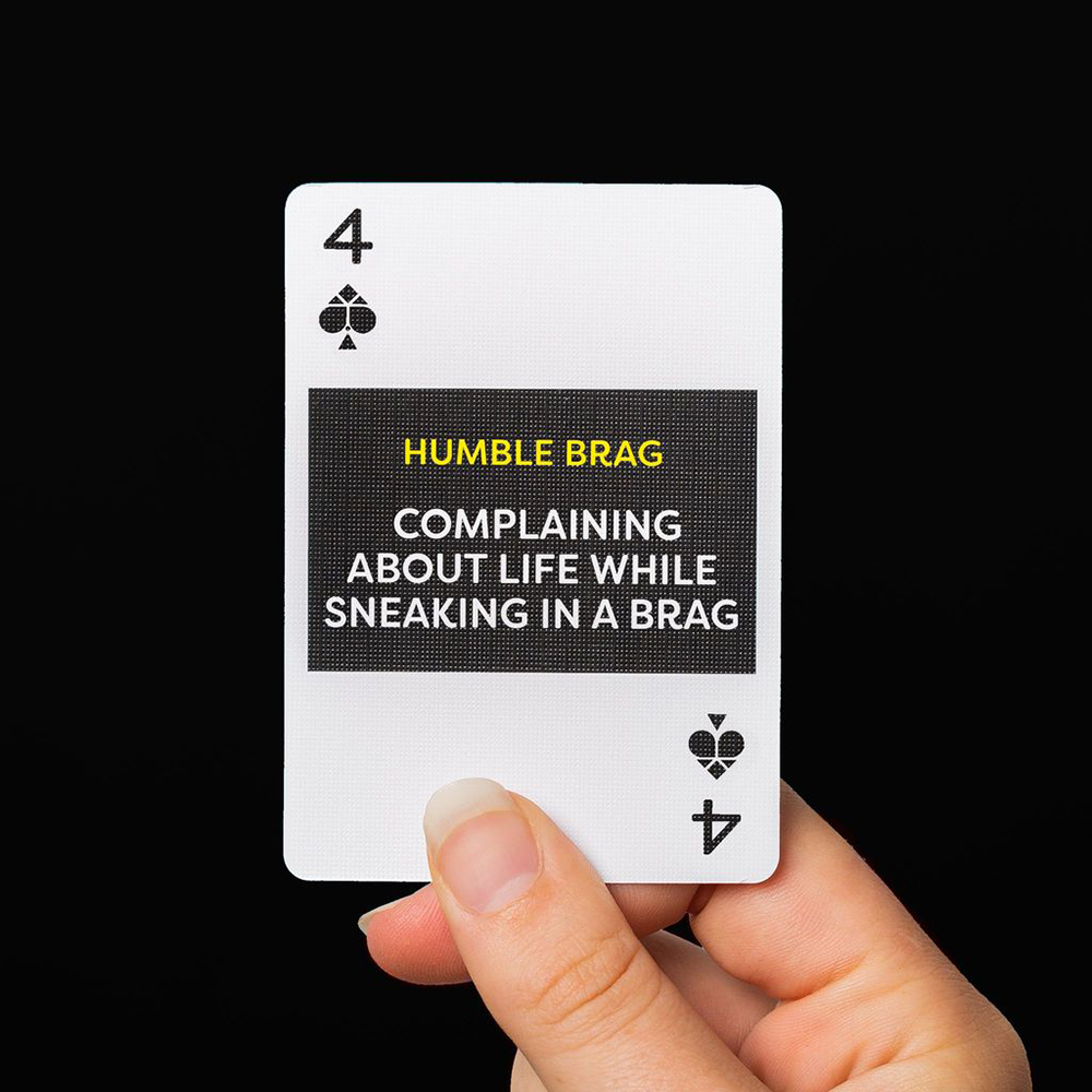 Lingo Millenials Slang Playing Cards