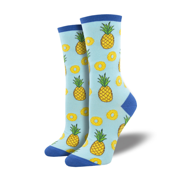 Socksmith Socks Womens Partial to Pineapples