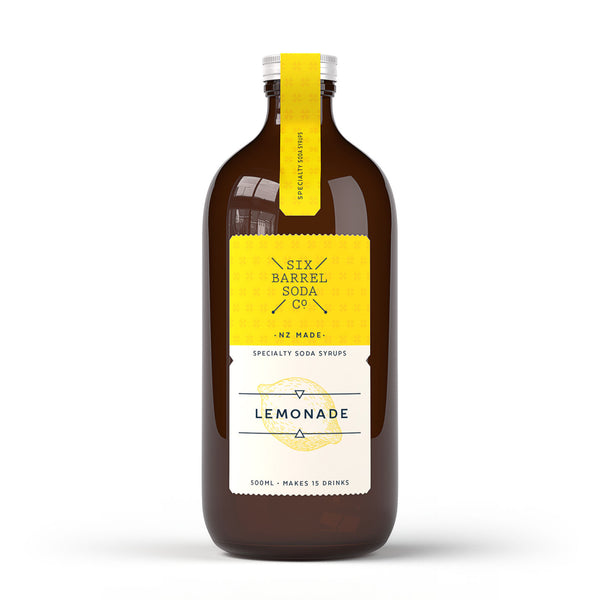 Six Barrel Soda Lemonade Syrup