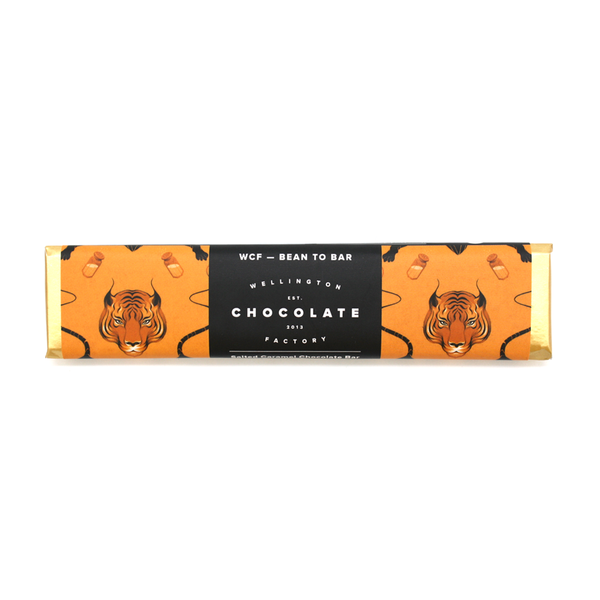 Wellington Chocolate Factory Salted Caramel Bar 25g