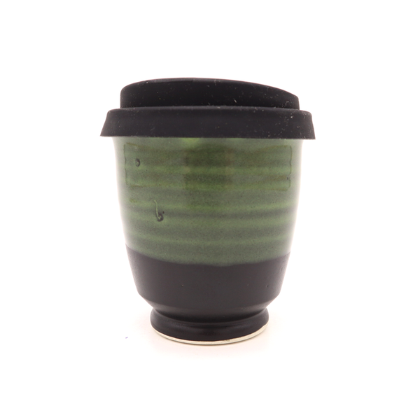 Westcoast Stoneware 8oz Reusable Cup Midnight Green