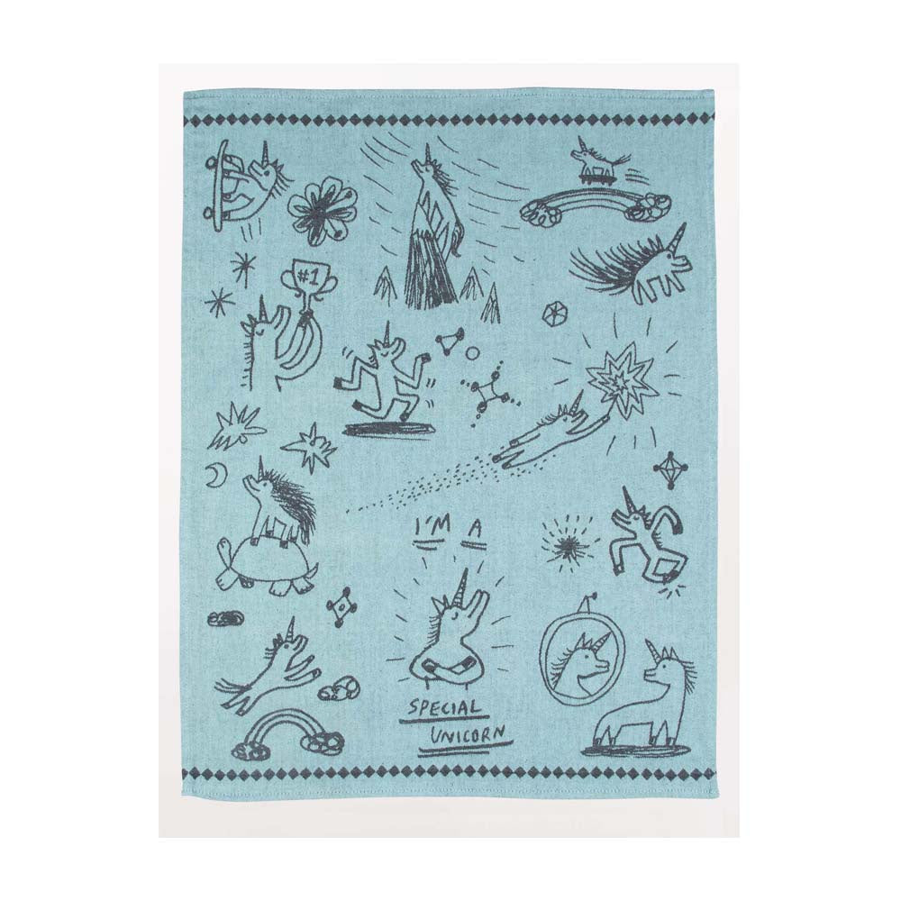 Blue Q Tea Towel Special Unicorn