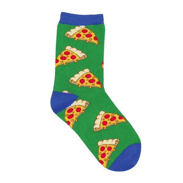 Socksmith Socks Kids Pizza Green