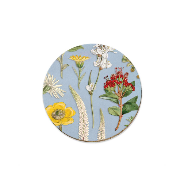 New Zealand Wildflowers Coaster