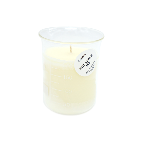 Crushes Hot Apple Pie Beaker Candle
