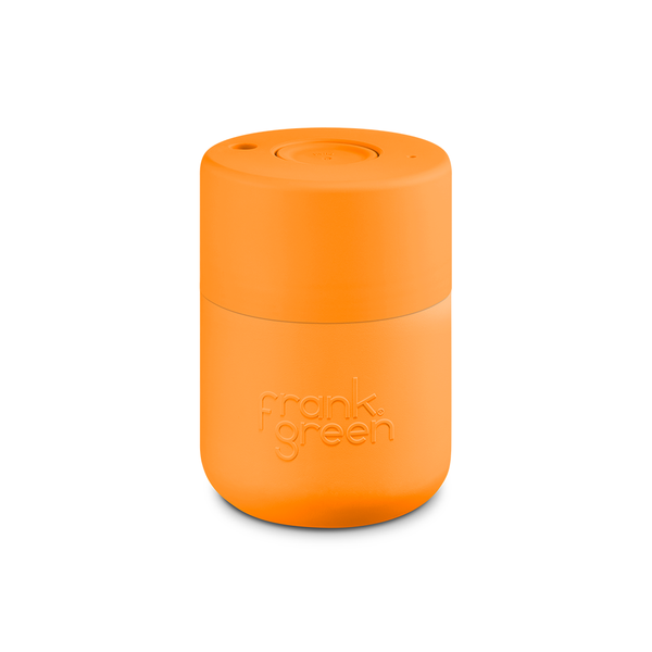 Frank Green Original Reusable Smart Cup 8oz Turmeric