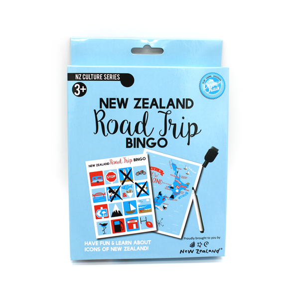 New Zealand Road Trip Bingo