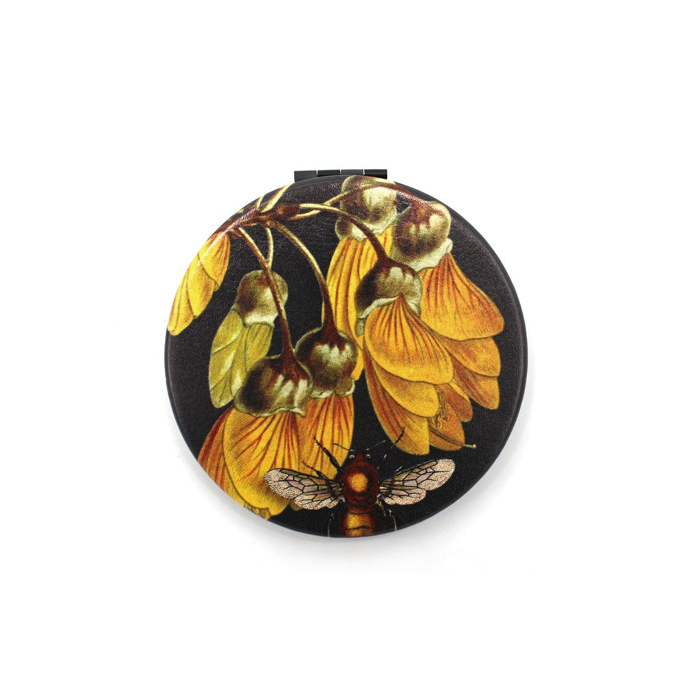 Wolfkamp and Stone Cosmetic Mirror Kowhai and Bee