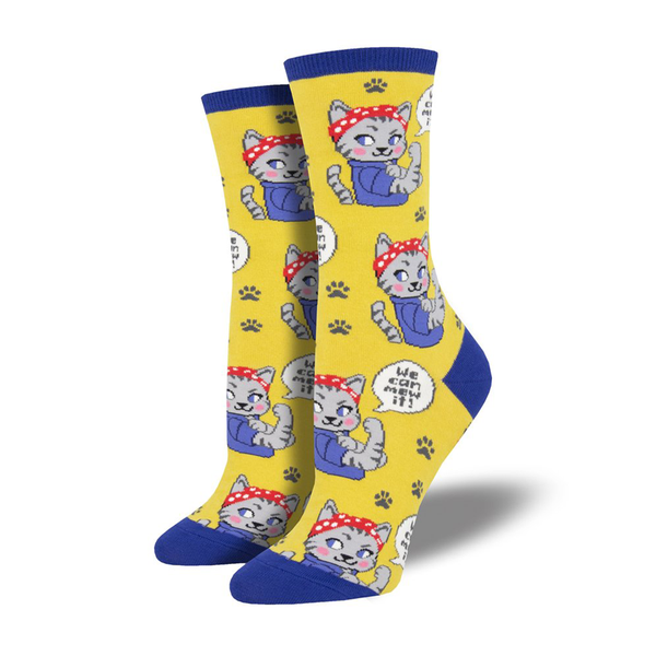 Socksmith Socks Womens We Can Mew it