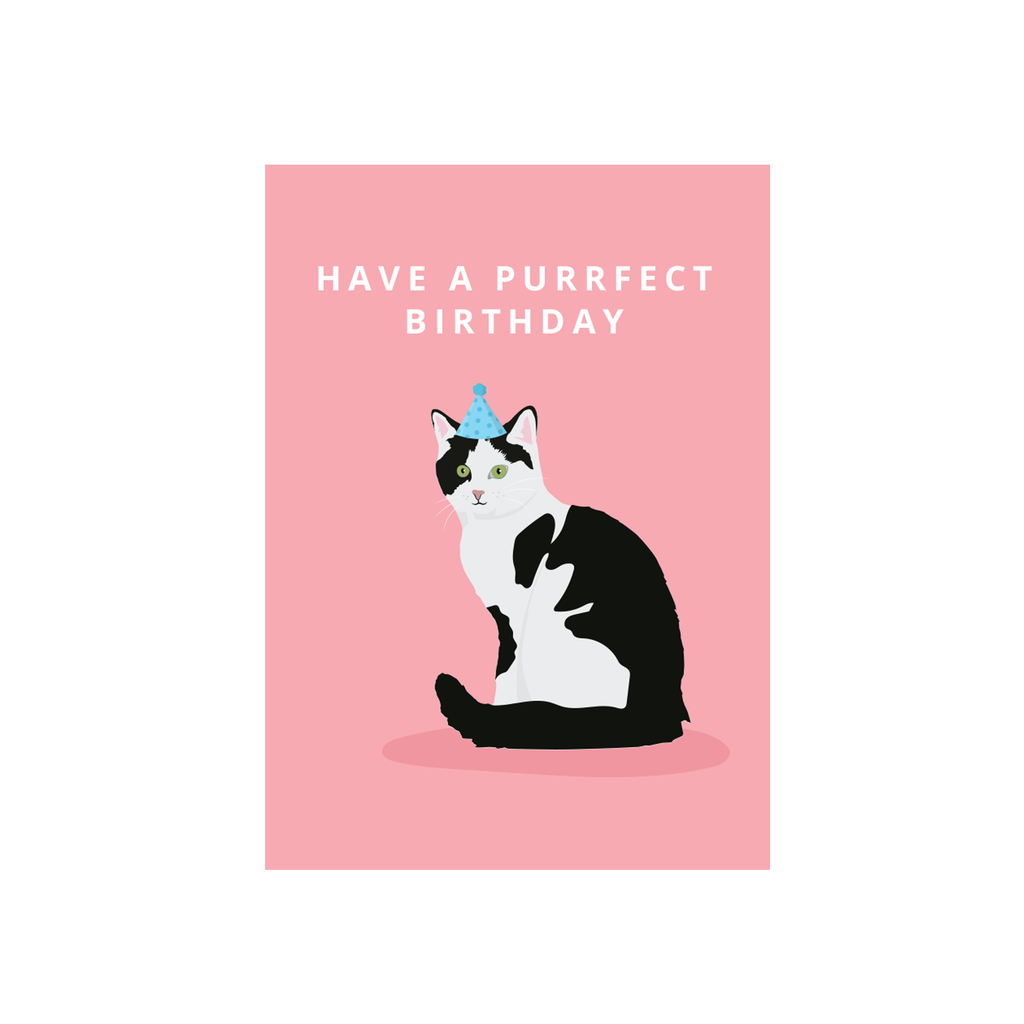 Iko Iko Cutie Animal Pun Card Purrfect
