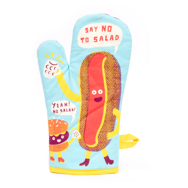 Blue Q Oven Mitt Say No to Salad