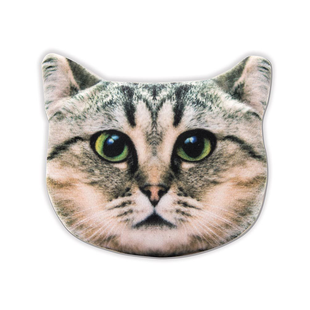 Pet Purse Kitty Tabby Grey