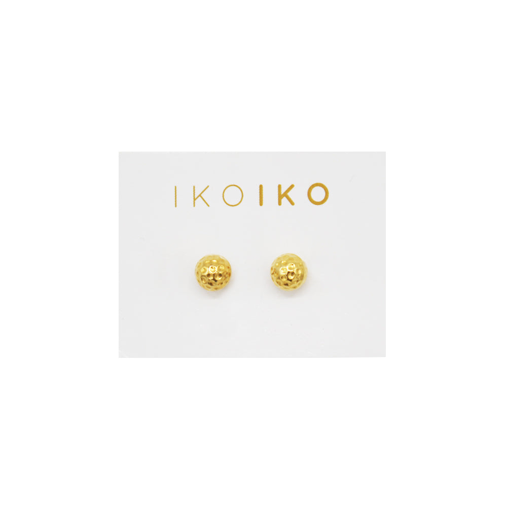 Iko Iko Studs Hammered Ball