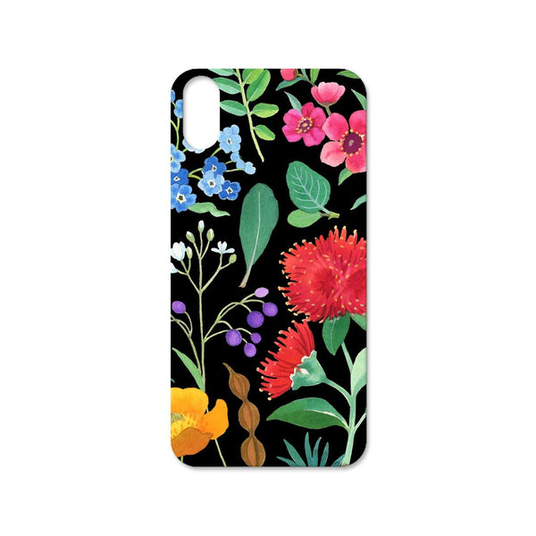 Wolfkamp and Stone iPhone 10 TPU Cover Watercolor Flowers