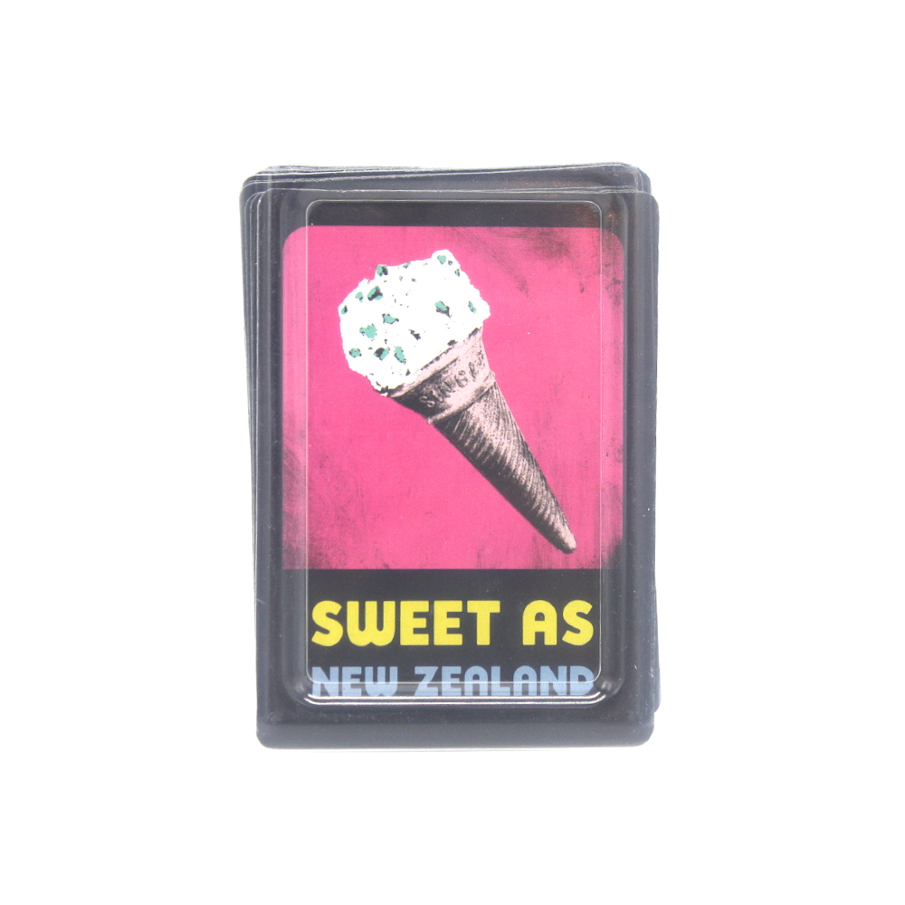 New Zealand Pop Art Playing Cards Sweet As